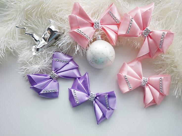 Baumschmuck: Stoff - 5 x Bögen auf dem Weihnachtsbaum - ein Designerstück von atelier-house-decor bei DaWanda #geschenk #weihnachtsgeschenk #fürmama #fürpapa #geschenkefinder #geschenkideen #weihnachtsmarkt #fürfreunde #füreinen #freund #fürschwester #geschenke #nachanlassideen #zumbefÜllen #aussergewÖhnliche #geschenkidee #ChristmasPresents #holidayshopping #Earrings #gift_idea  #santagift #christmastree #giftbox #christmasgiftideas