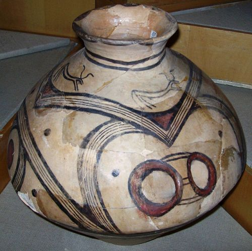 (Cucuteni Trypillian culture) Cucuteni-Trypillian culture. Romania