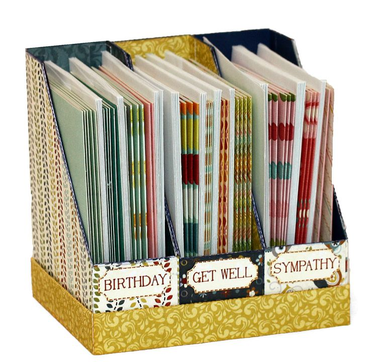 Card Making Room Ideas Part - 25: Card Holder And Organizer
