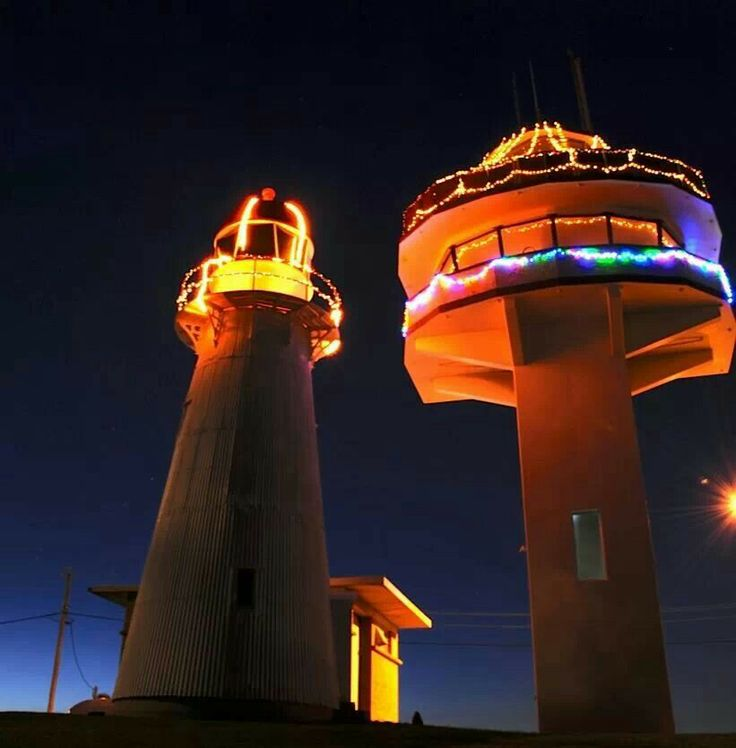 Caloundra twin lighthouse Queensland