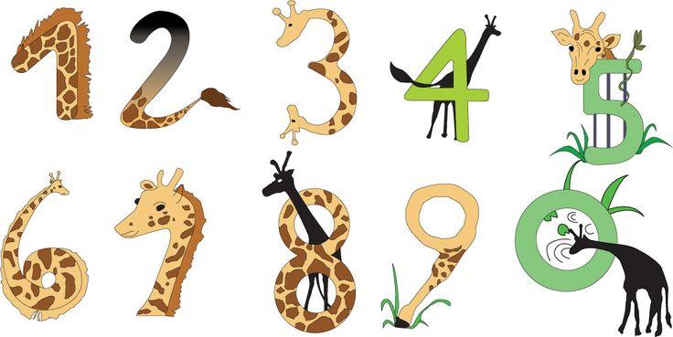 기린으로 숫자 표현하기
