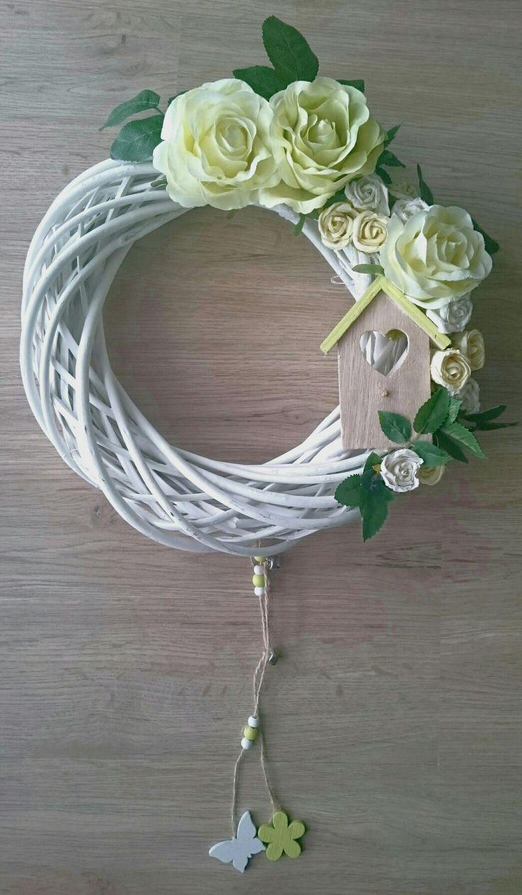 Spring wreath  Jarní velikonoční věnec
