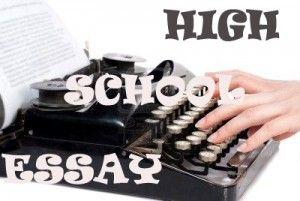 essay on my high school days