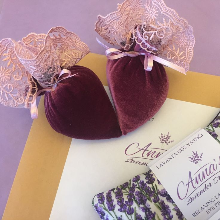 Thank you, Tina, for your order! Little surprise (as promised for all orders till February 15th) - Velvet Lady's Shoe Fresheners (in dark pink)