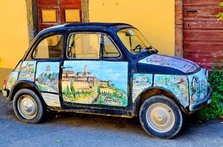 FIAT 500 Art