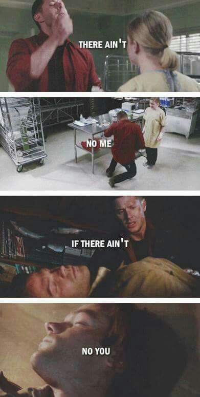 Supernatural - Season 11 Episode 17. MY EMOTIONS << this episode got very dark very quickly. I never want dean to try to commit suicide again.