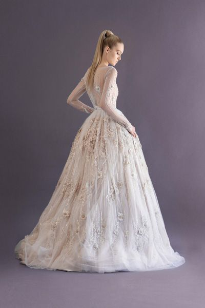 Paolo Sebastian Autumn Winter 2014 Collection. This gown is encrusted with 1 million dollars worth of diamonds!