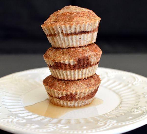 Kanel- og bananmuffins! Må prøve disse uten egg, og med havremelk...!!