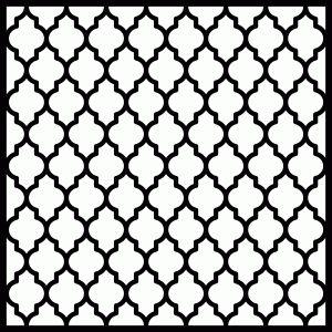 Silhouette Online Store: quatrefoil pattern...Rivka's Renditions / Rivka Wilkins