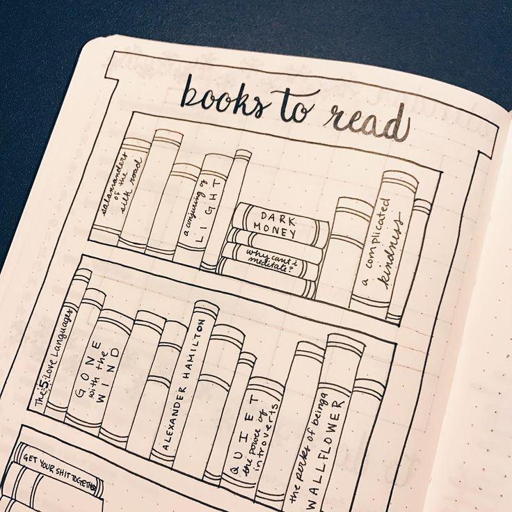 Page livres à lire