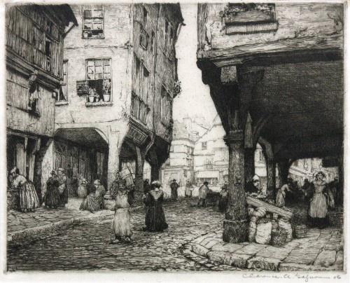 Rue des Cordeliers (Dinan, 1908) Clarence Gagnon