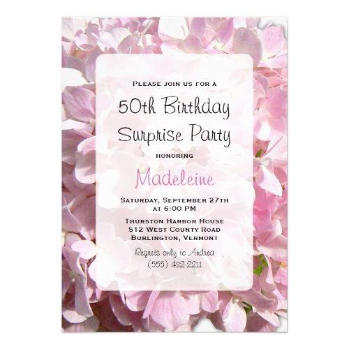 17 Best ideas about Surprise Birthday Invitations on Pinterest ...