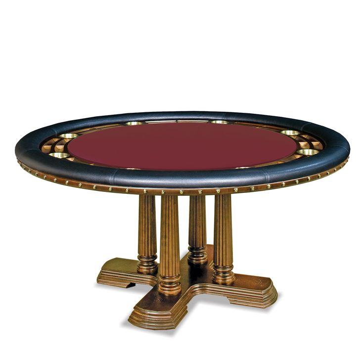 25 pinterest for Pottery barn poker table