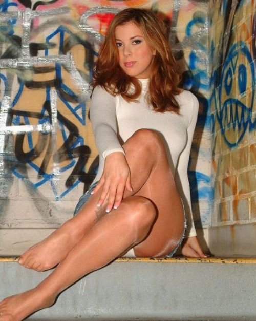 Red heads in pantyhose