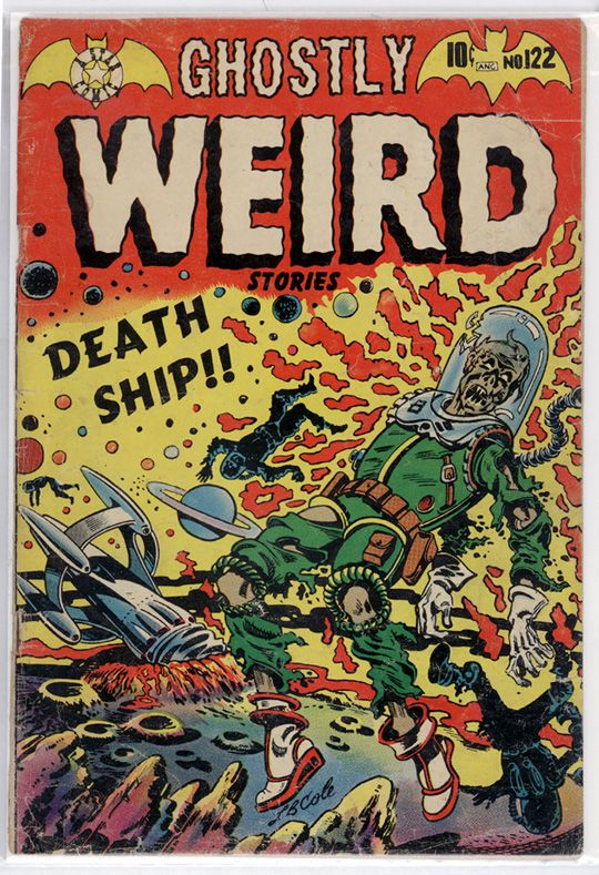 Ghostly Weird 122, 1954