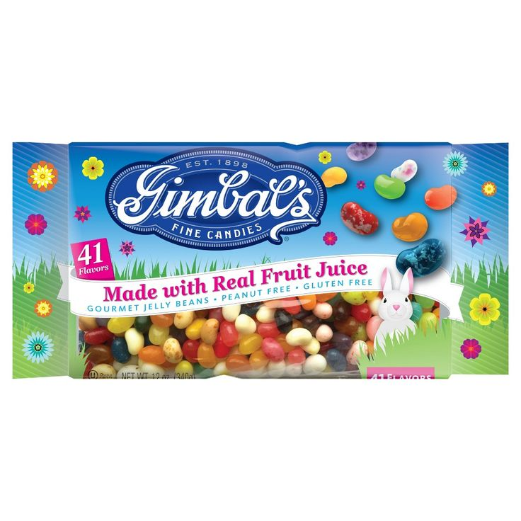 Gimbal's Easter 41 Flavors Gluten Free Gourmet Jelly Beans - 12 oz