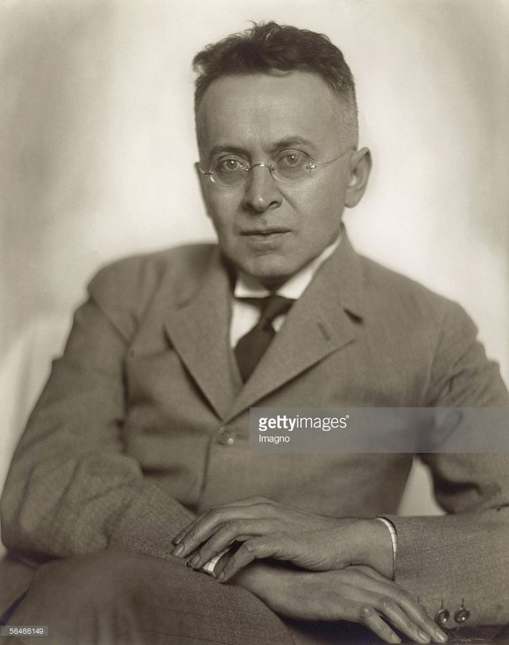 Karl Kraus. Vienna. Photography. Around 1925. (Photo by Imagno/Getty Images) [Karl Kraus. Wien. Photographie. Um 1925]