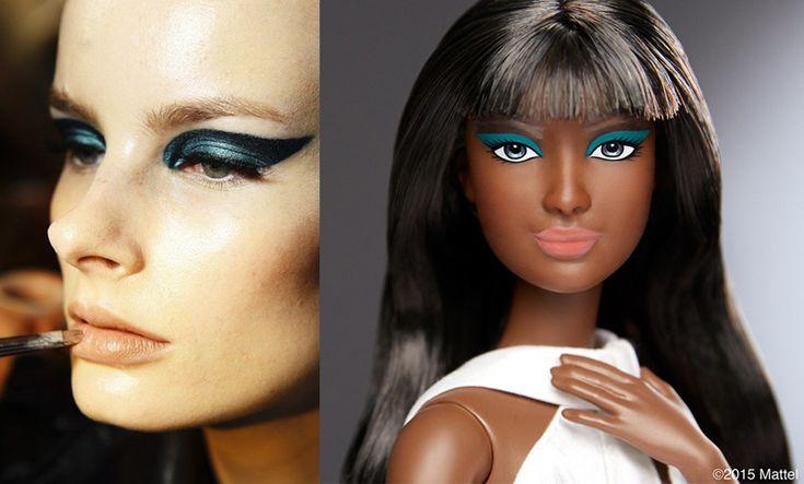 кукла Барби с макияжем Пэт Макграт