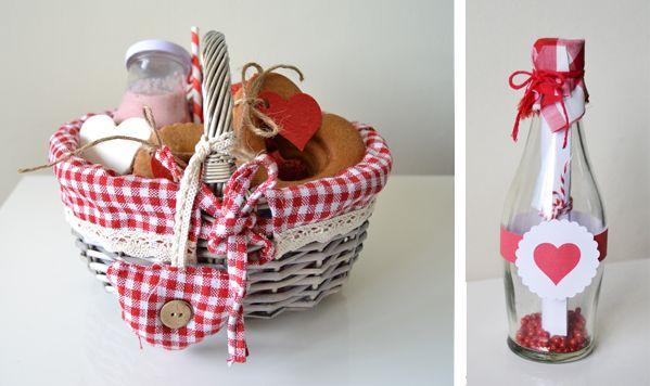 La chica de la casa de caramelo: Cesta dulce de San Valentín