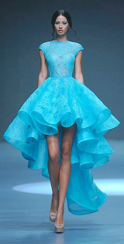 Michael Cinco Couture Spring 2015 #MichaelCinco #SS15 #FashionWeek