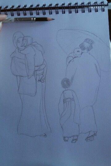 Dibujando a Helen Hyde. #sketching