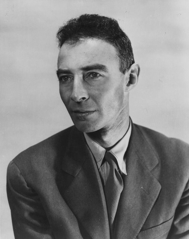 Atomic physicist and Manhattan Project head Dr. J. Robert Oppenheimer, photographed in 1944