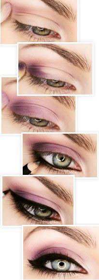 Как сделать модный макияж со стрелками, по шагам