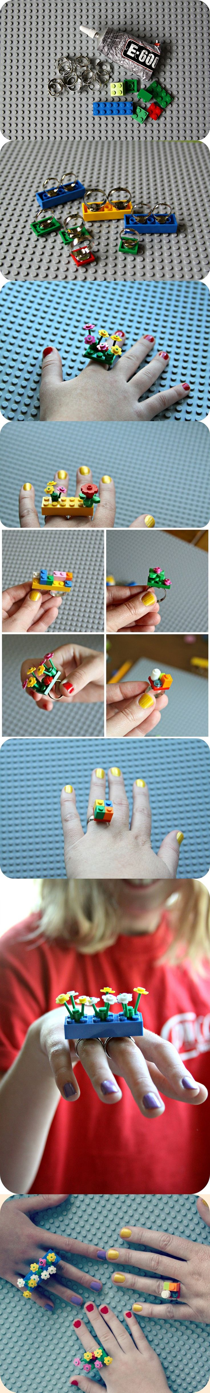 LEGO Rings #LEGO #rings #ring