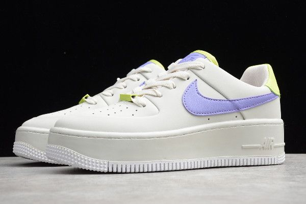 Nike Air Force 1 '07 White Teal Nebula Gold On Sale