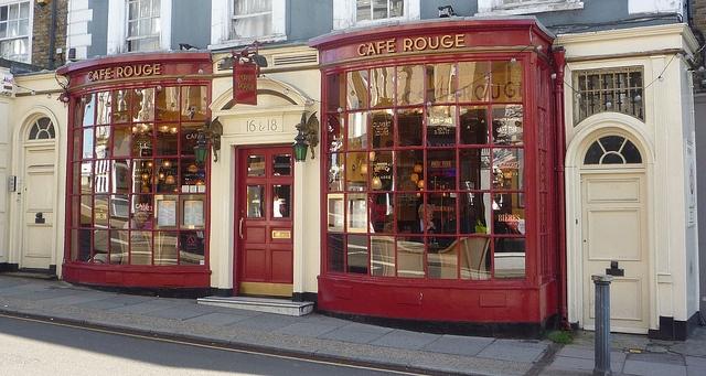 London~Café Rouge : Montpelier Vale ~ Blackheath photo by curry15, via Flickr