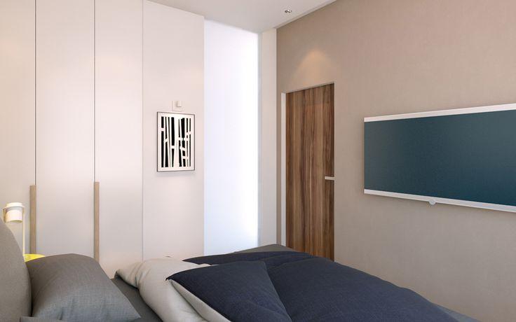 дизайн спальни в стиле минимализм, интерьер спальни  в минимализме, квартира в стиле минимализм, дизайн квартиры, идея дизайна спальни