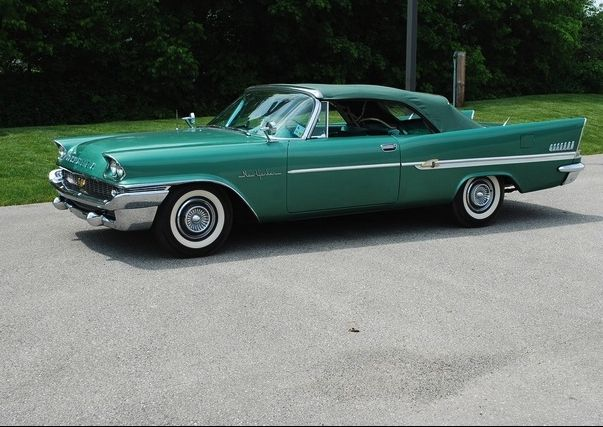 1957 Green New Yorker Convertible
