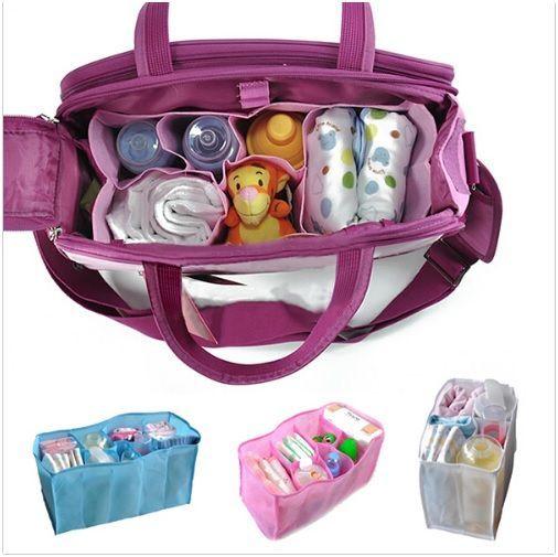Luiertasorganizer roze voor slechts €4,- bij Hip&Hap - Voor in je luiertas of tover je eigen tas om tot een hippe luiertas! - Hip & Hap
