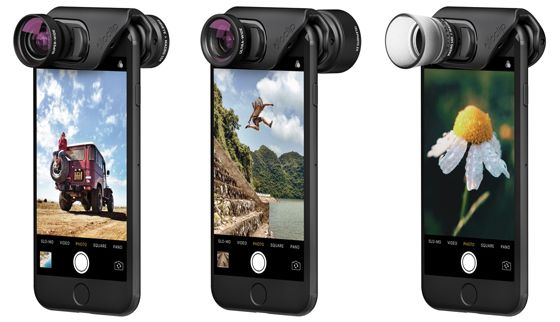 Olloclip iPhone 7 & 7 Plus Lens Kits Offer New Improved Design