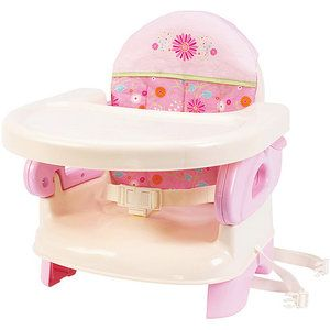 Summer Infant - Deluxe Folding Booster Seat, Pink - $19.98
