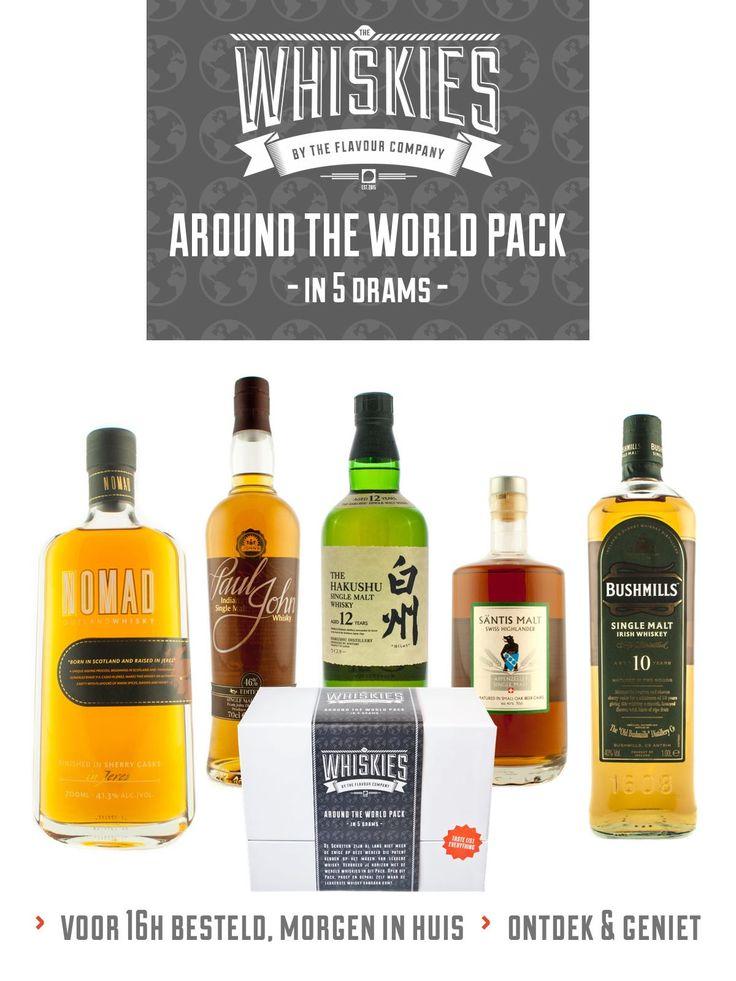 Whisky - Around the world pack