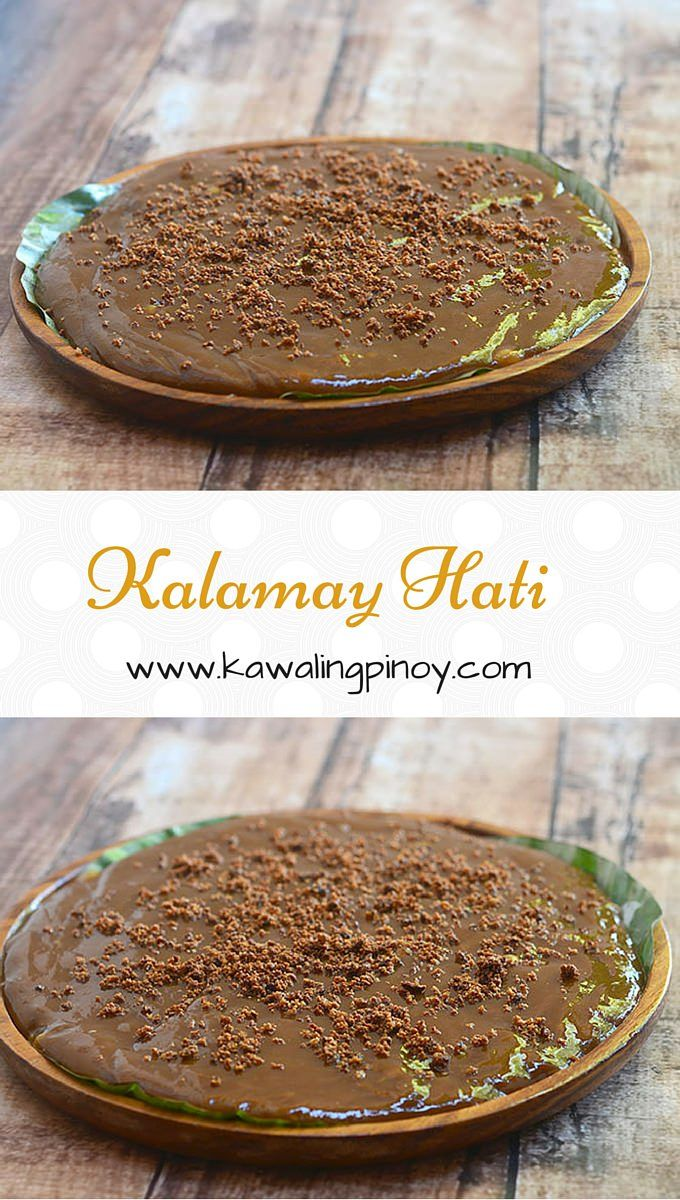 Best 25 glutinous rice ideas on pinterest recipe with glutinous kalamay hati is a filipino rice cake made with glutinous rice flour coconut milk and ccuart Choice Image