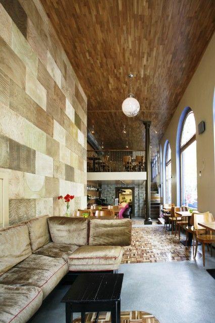 One of mu favorites is the Golden Brown Bar @ Jan Pieter Heijestraat . Asian kitchen
