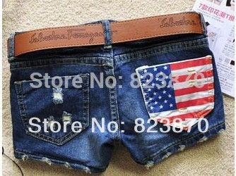 Hot-Selling Shortts 2013 New Arrival High Waisted Denim Shorts Summer Blue Jeans Cheap High Waisted Shorts Free Shipping - http://www.freshinstyle.com/products/hot-selling-shortts-2013-new-arrival-high-waisted-denim-shorts-summer-blue-jeans-cheap-high-waisted-shorts-free-shipping/