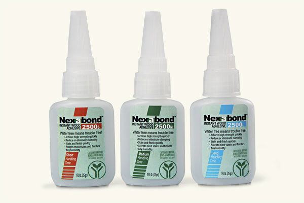 three tubes of instant wood adhesive illustrating The TOH TOP 100 Best New Home Products