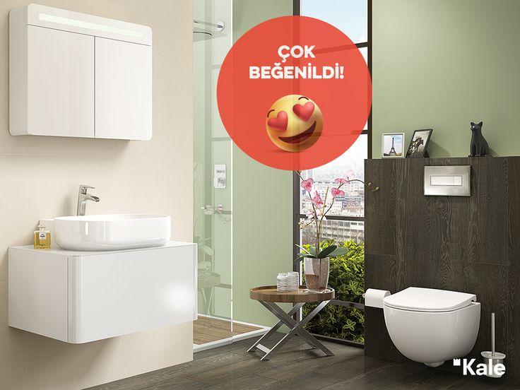 Kanalsız yapısıyla temizliği kolaylaştıran Zero SmartYıkama Klozet #çokbeğenildi #haftanınfavorisi #KaleBanyo #favoritebathrooms #kale #banyo #banyodekorasyon #banyomobilyaları #bestbathrooms #banyofikirleri #ZeroSmartYıkama