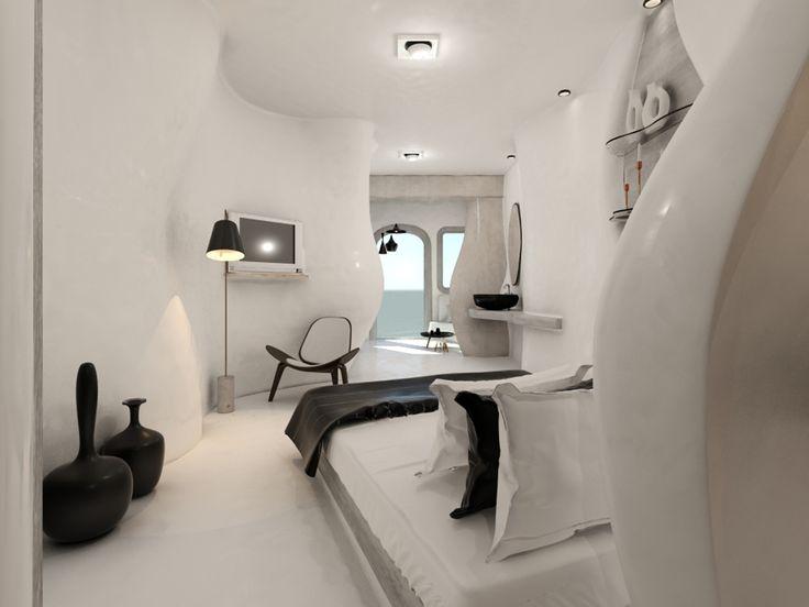 Utopia Landscapes - Junior Suite, Tholos Resort Santorini
