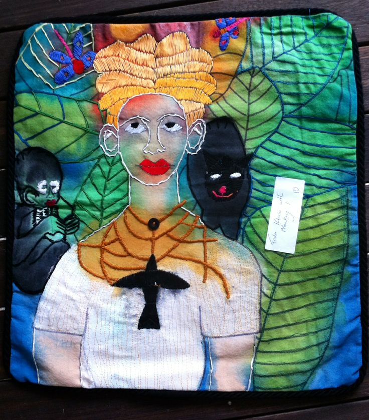 Cushion by Monte Lupo Arts (not for profit disability provider)