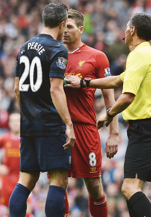 The intensity of the Man Utd-Liverpool rivalry.