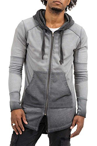trueprodigy Casual Hombre marca Sudadera Zip basico ropa retro vintage rock  vestir moda con capucha manga larga slim fit designer cool… 36f321c02e5