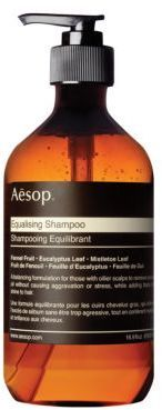 My sister (City Mouse) loves this shampoo! Company is from Austrailia - Aesop Equalizing Shampoo - A gentle formulation to balance the scalp. Gently astringent botanicals absorb excess oil without irritating or aggravating the scalp, simultaneously delivering body and shine to hair. Afflink