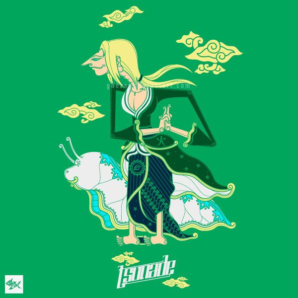 Tsunade Wayang - Team 7 on Behance full project >> http://bit.ly/1iq5Oeg