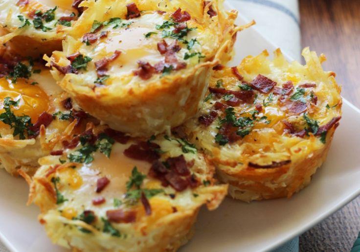 Egg muffins στο φούρνο Για ένα γρήγορο και θρεπτικό πρωινό.