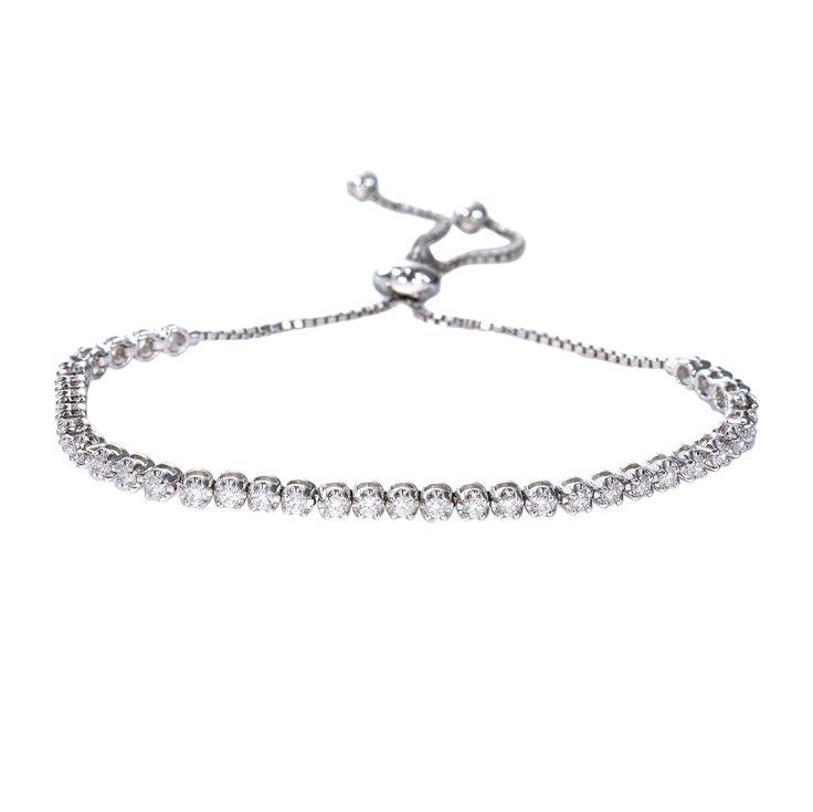 25 Best Ideas About Diamond Tennis Bracelet On Pinterest