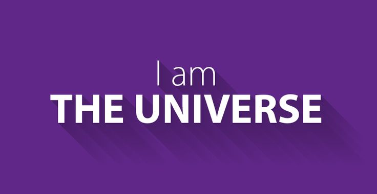 I am the universe :: #affirmations #positivethoughts